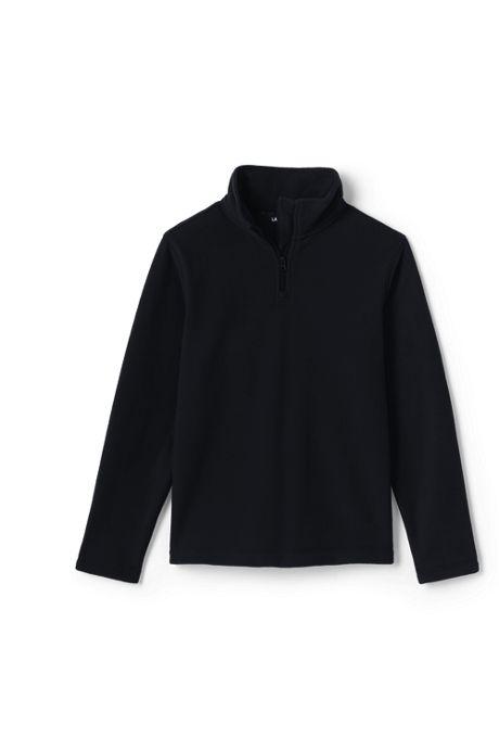 School Uniform Little Kids Lightweight Fleece Quarter Zip Pullover