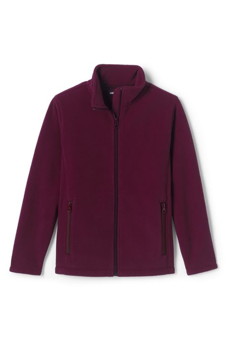 School Uniform Kids Mid-weight Fleece Jacket