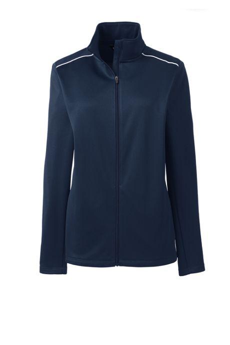 School Uniform Women's Active Track Jacket