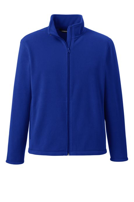 School Uniform Men's Mid-weight Fleece Jacket