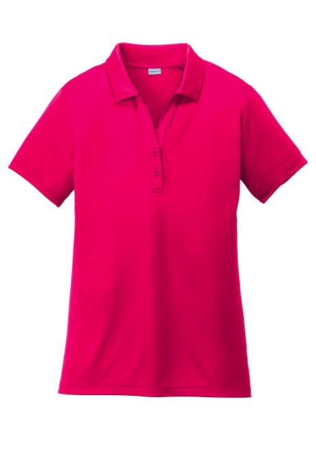 Sport-Tek Women's Plus PosiCharge Competitor Short Sleeve Polo
