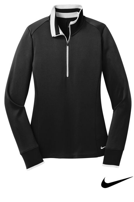 Nike Women's Regular Dri Fit Quarter Zip Pullover