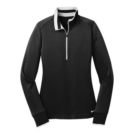 Nike Women's Regular Dri Fit Quarter Zip Pullover