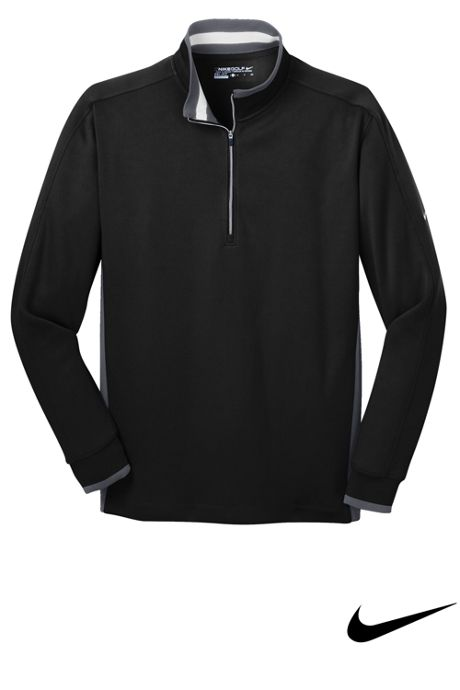 Nike Men's Regular Dri Fit Quarter Zip Pullover