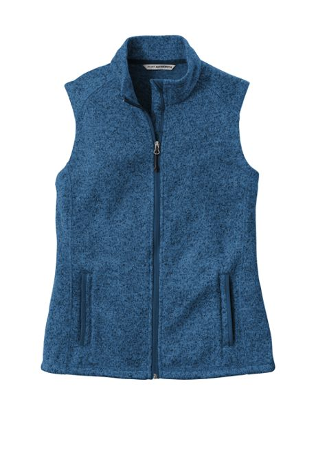 Port Authority Women's Regular Sweater Fleece Vest