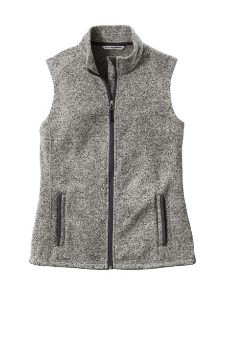Port Authority Women's Plus Sweater Fleece Vest