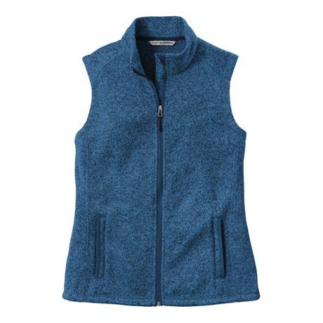Port Authority Women's Regular Sweater Fleece Vest