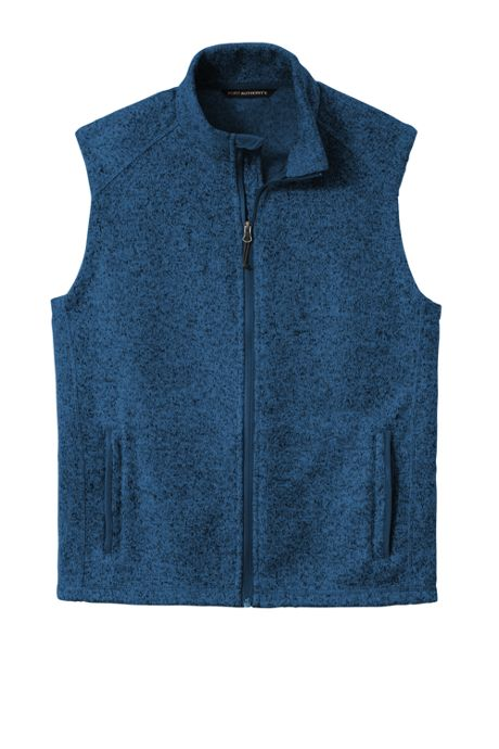 Men's Port Authority Sweater Fleece Vest