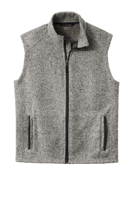 Port Authority Men's Big Sweater Fleece Vest