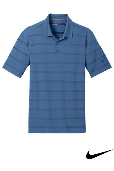 Nike Men's Regular Stripe Dri Fit Short Sleeve Polo
