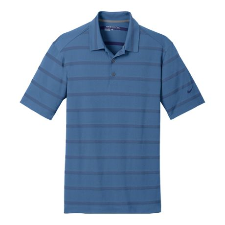 Nike Men's Regular Stripe Dri Fit Short Sleeve Polo