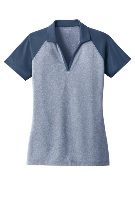 Sport-Tek Women's Regular Colorblock Short Sleeve Polo