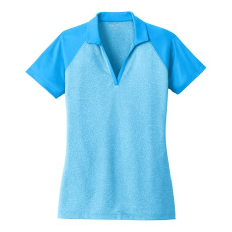 Sport-Tek Women's Regular Colorblock Short Sleeve Polo