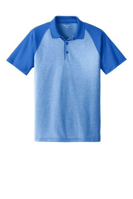 Men's Big Sport Tek Colorblock Short Sleeve Polo
