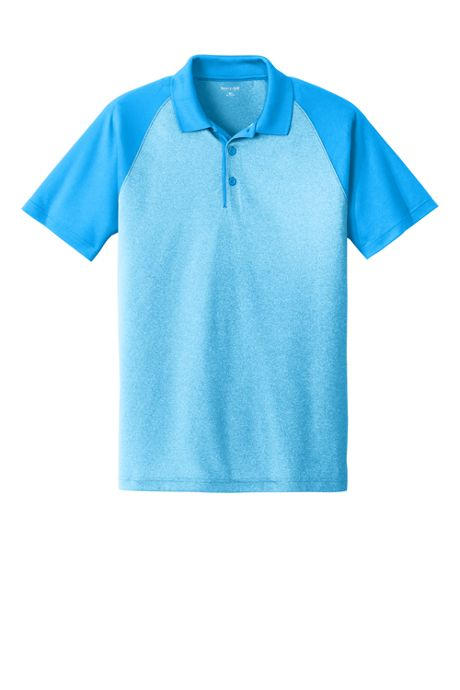 Men's Regular Sport Tek Colorblock Short Sleeve Polo