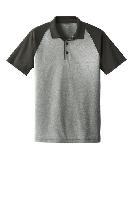 Sport-Tek Men's Regular Colorblock Short Sleeve Polo