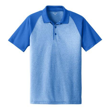 Sport-Tek Men's Regular Colorblock Short Sleeve Polo