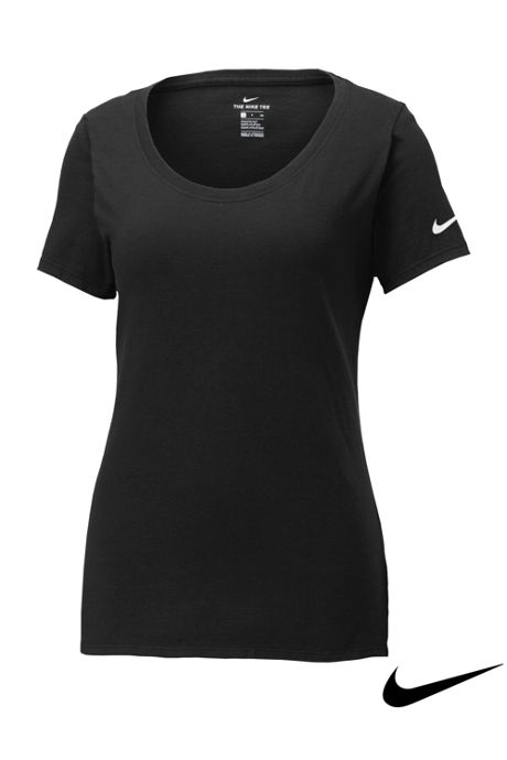 Nike Women's Plus Core Cotton Short Sleeve Tee Shirt