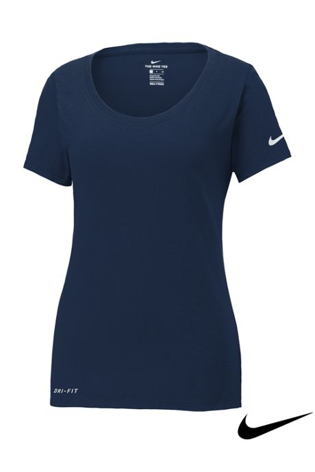 Women's Plus Nike Dri Fit Short Sleeve Tee Shirt