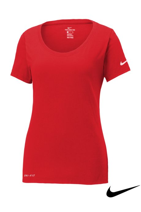 Women's Nike Dri Fit Short Sleeve Tee Shirt