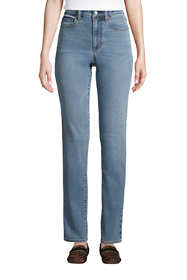 Women's Water Conserve Eco Friendly Mid Rise Boyfriend Blue Jeans