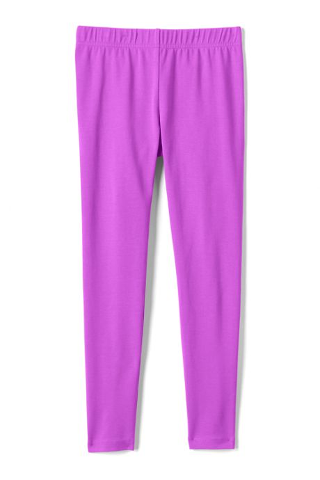 Girls Tough Cotton Ankle Leggings