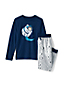 Boys' Long Sleeve Glow in the Dark Pyjamas