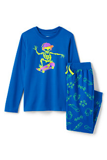 Pyjama-Set mit Grafik-Print für Jungen