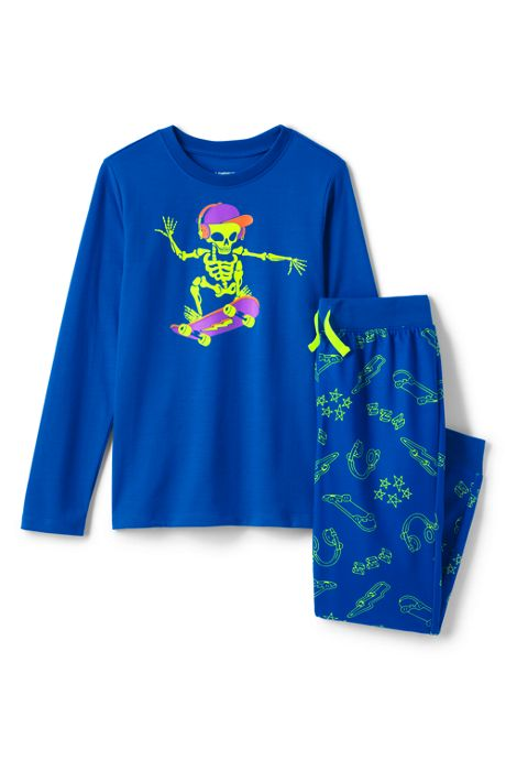 Boys Long Sleeve Pajama Set