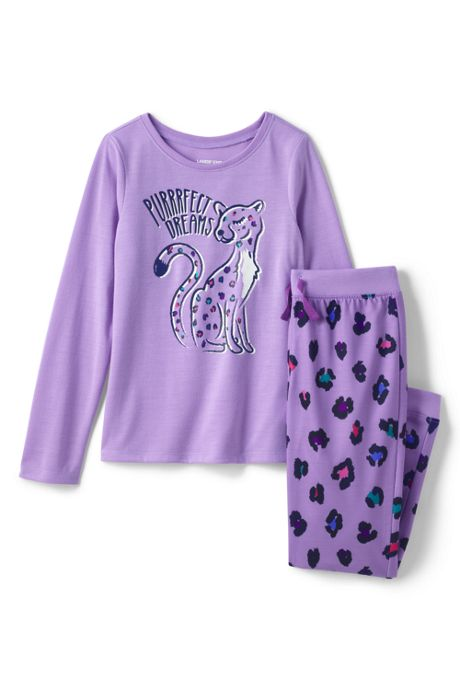 Girls Long Sleeve Pajama Set