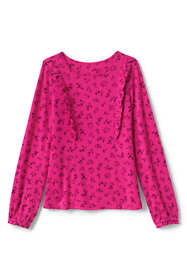 Girls Ruffle Knit Top