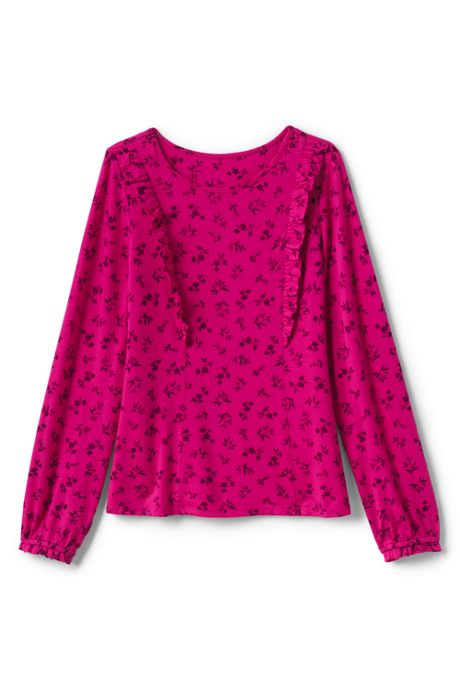 Toddler Girls Ruffle Knit Top