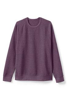 Sweatshirt mit Waffelstruktur für Herren