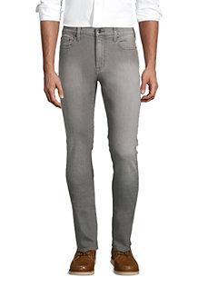 Men's Yarn Dye Stretch Denim Jeans, Slim Fit