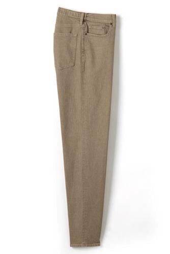 Men's Yarn Dye Stretch Denim Jeans, Comfort Waist