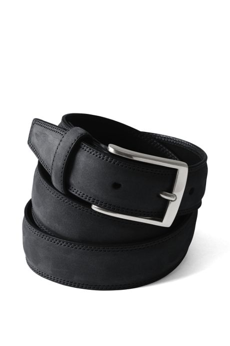 Men's Nubuck Leather Belt
