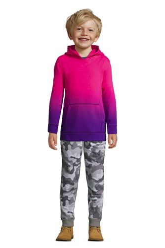 Little Kids Dip Dye Pullover Fleece Hoodie