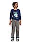 Gefütterte Iron Knees® Stretch-Hose für große Jungen