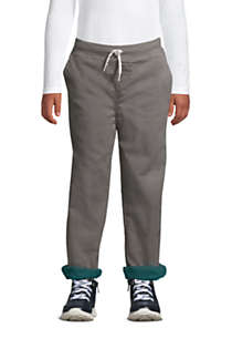 Boys Iron Knee Stretch Lined Rib Waist Pants, Front