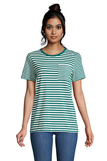 Women's Cotton Modal Short Sleeve Pocket T-shirt