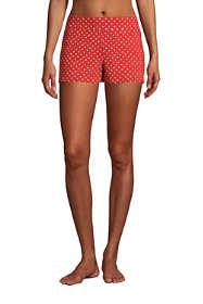 "Women's 3"" Tummy Control Modest Swim Shorts Print"