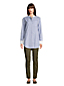 Women's Cotton A-Line Long Sleeve Tunic Blouse