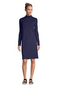 Women's Long Sleeve Starfish Mock Neck Dress
