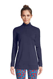 Women's Starfish Long Sleeve Quarter Zip Tunic