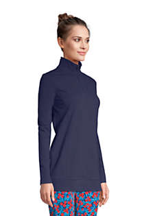 Women's Starfish Long Sleeve Quarter Zip Tunic, Unknown