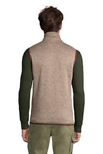 Men's Sweater Fleece Vest, Back