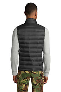 Men's Tall 600 Down Vest, Back