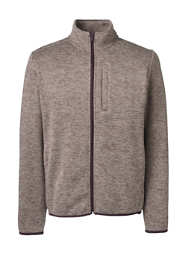 Men's Tall Full Zip Sweater Fleece