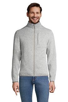 Strickfleece-Zipperjacke für Herren