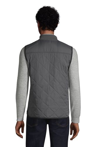 Men's Tall Insulated Quilted Vest